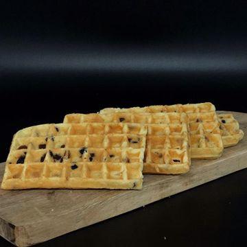 Afbeeldingen van Cakewafels rozijnen 4st.