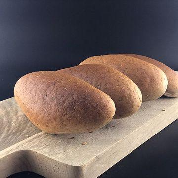 Afbeeldingen van Half hard grijs broodje