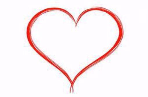 Afbeelding van Moederdag Aardbeienhartje 1 persoons