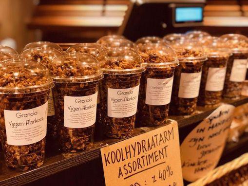 Afbeelding van granola Kokos-Chocolade